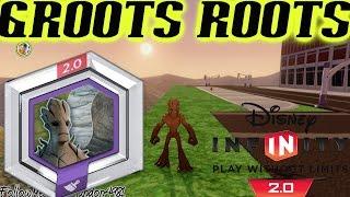 Disney Infinity Marvel Super Heroes - Hexagon Power Disc GROOTS ROOTS - PS4