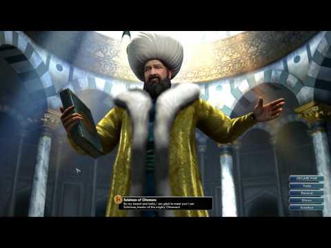 Civilization V OST | Suleiman Peace Theme | Ceddin Deden