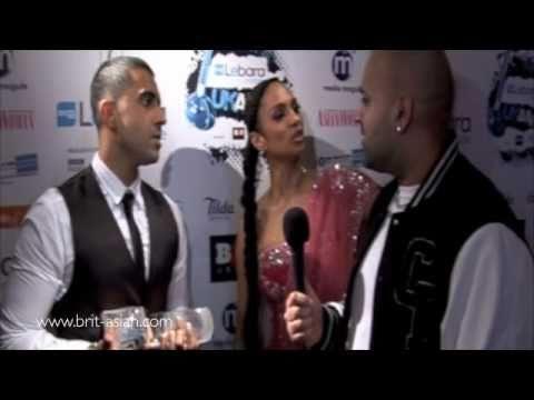 Jay Sean, Alesha Dixon, Anuvahood, Mumzy & Preeya Kalidas Backstage at the UK AMA's 2011