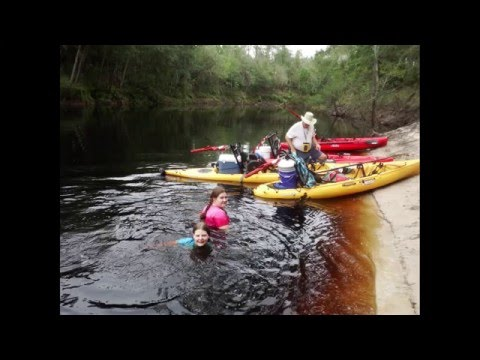 Suwannee River ..... Stephen Foster to Woods Ferry River Camp... Day 1 of 8