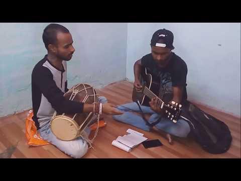 Mere Rashke Qamar|| Dholak Guitar Unique Combination||