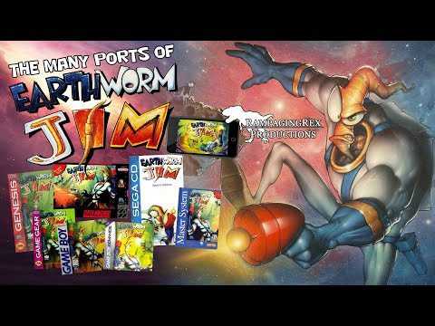 The Many Ports Of Earthworm Jim | Retro Rampage