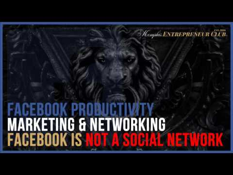 Facebook is NOT [just] A SOCIAL NETWORK!!