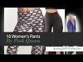 10 Women's Pants By Pink Queen Spring 2017 Collection