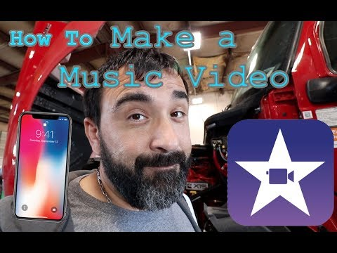 How to MAKE A MUSIC VIDEO with iPhone #WAMIMS