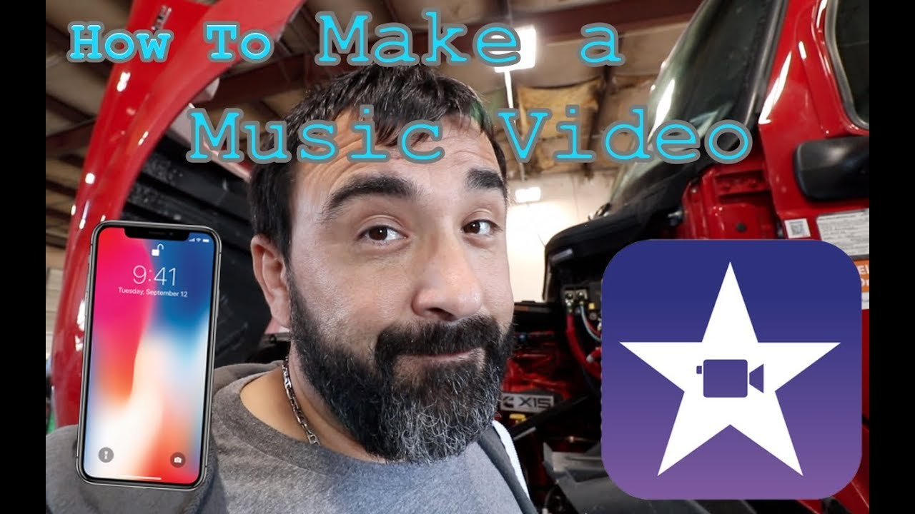 How to make a video with pics and music on iphone