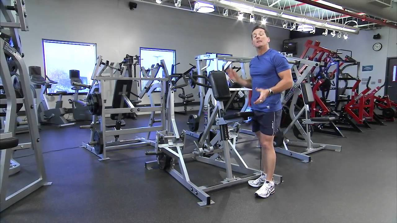 Hammer Strength Plate-Loaded Row Instructions