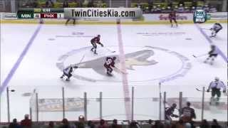 Fantastic lucky goal by Yandle vs Wild
