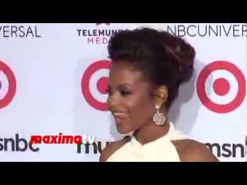 Christina Milian in SEN Couture  2013 NCLR ALMA Awards Red Carpet Arrivals thumbnail