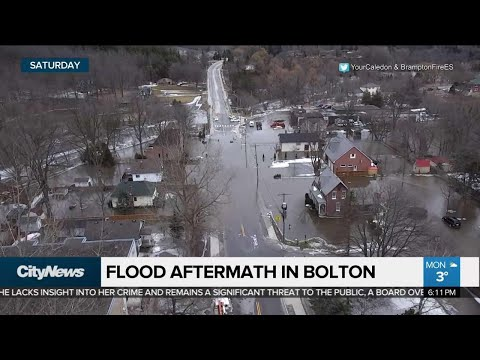 Clean-up Continues After Bolton Flooding