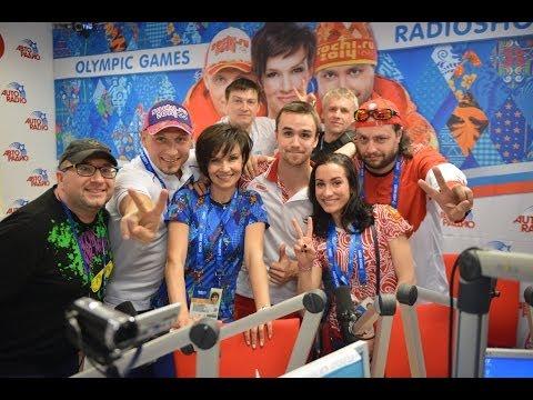 Чемпионы Олимпийских игр в Сочи Ксения Столбова и Фёдор Климов в радиошоу Победа!
