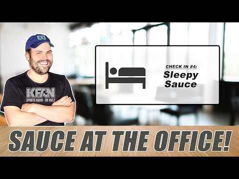 #SauceAtTheOffice: Saucey's getting sleepy...