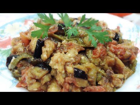 salade-de-poivrons-aubergines-tomate