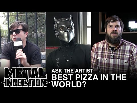 ASK THE ARTIST: Best Pizza in the World? | Metal Injection