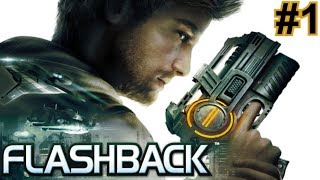 Flashback Remake (PC, 2013) || Longplay / Walkthrough (Part 1 of 6) || Comentado en español