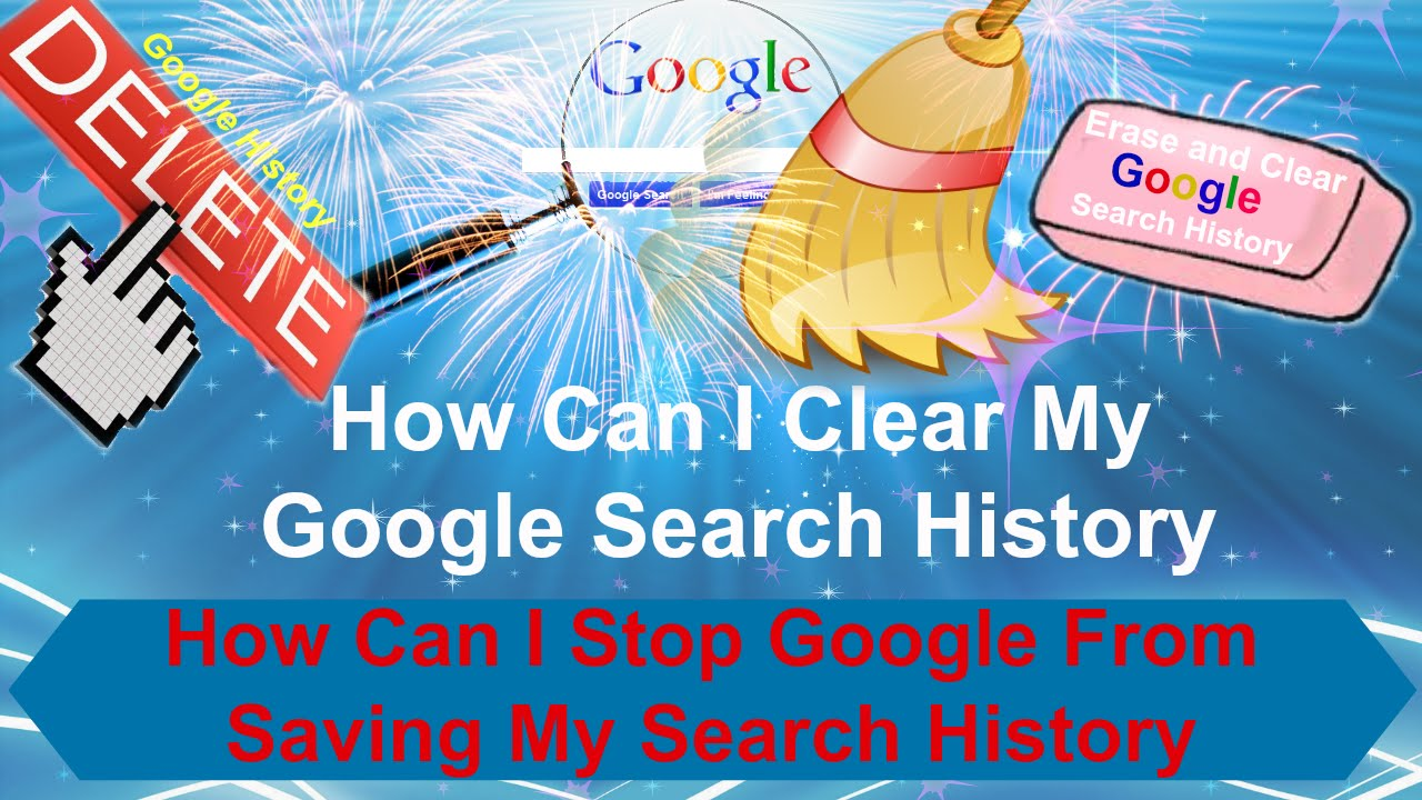 how to clear search history in my computer