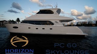Horizon Yachts PC 60 - Power Catamaran - Performance and panache.