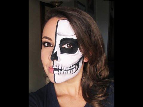 Face art Halloween. Cranio. Skull. Как в Италии отмечают Halloween