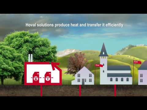 Efficient heating Solutions for district heating