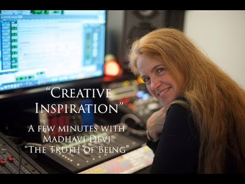 """""""Creative Inspiration"""" a new video short featuring Spotted Peccary Music artist, Madhavi Devi."""