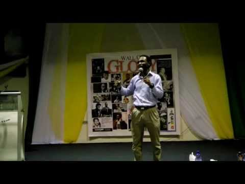 AHELLO COMEDIAN- Performs at All Africa Media Network Awards