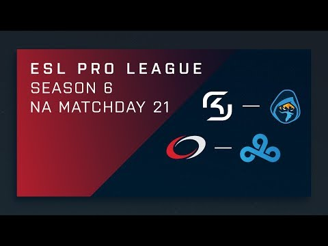 CS:GO: SK vs. Rogue | compLexity vs. Cloud9 - Day 21 - ESL Pro League Season 6 - NA 2nd Stream
