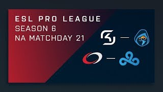 CS:GO: SK vs. Rogue   compLexity vs. Cloud9 - Day 21 - ESL Pro League Season 6 - NA 2nd Stream