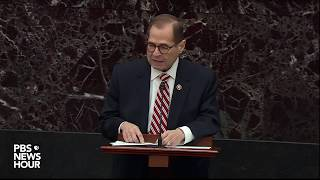 WATCH: Nadler says Trump's defense is 'terrifying' | Trump impeachment trial