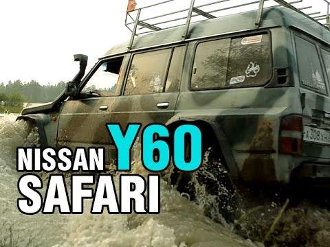 Фото к видео: Боевой внедорожник Nissan Safari, TD42, 1992 - краткий обзор