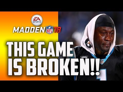 MADDEN 18 IS BROKEN!!! AND HERES WHY...... (FIRST IMPRESSIONS)