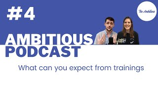 The Ambitious Podcast #4 - What can you expect from interview training ?
