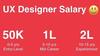 UX Designer, Web Designer & Graphic Designer Salary in India