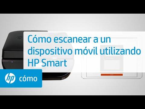 Cómo escanear a un dispositivo móvil utilizando HP Smart | Impresoras HP | HP