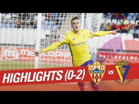 Resumen de UD Almería vs Cádiz CF (0-2)