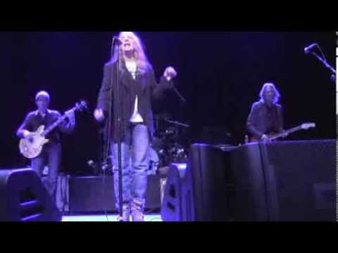 Patti Smith and her band at The Space In Westbury