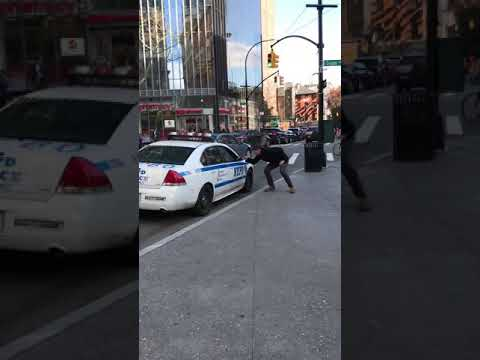 The Morning Breeze - New York Police Officer Sings Along With The Backstreet Boys In His Cruiser