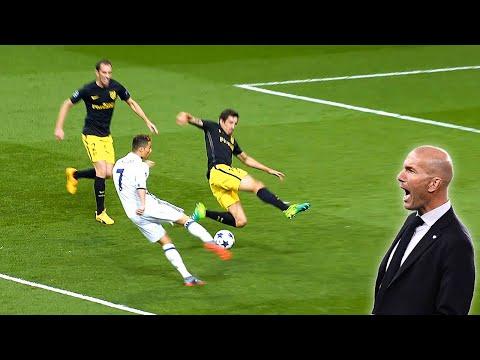 Real Madrid CRAZY Goals under ZIDANE