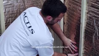 Installing HYBRIS behind timbers