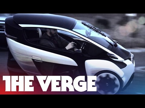 Driving the Toyota i-Road concept car