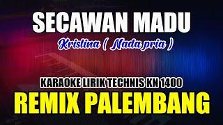 Download SECAWAN MADU    KARAOKE REMIX PALEMBANG ( NADA PRIA )