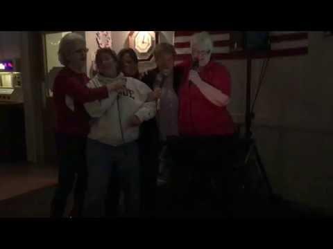 South Bend Elks 11-5-16 Karaoke mary, Luci, Jen & JanetIMG 71381