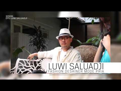Profil Luwi Saluadji, Seorang Fashion Designer Mode Pria