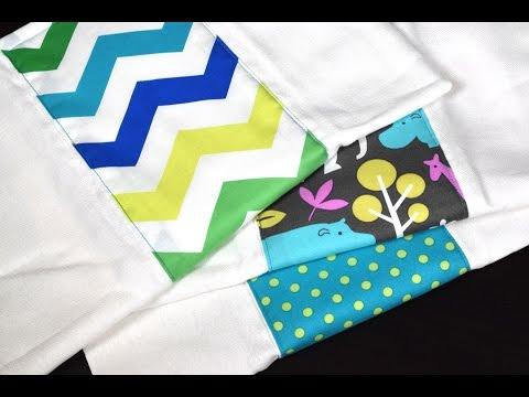 DIY Baby Burp Cloths (Sewing Tutorial)