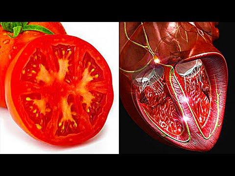 Еда полезна для той части тела на которую похожа