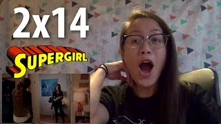 Rin watches Supergirl (Reaction) 2x14