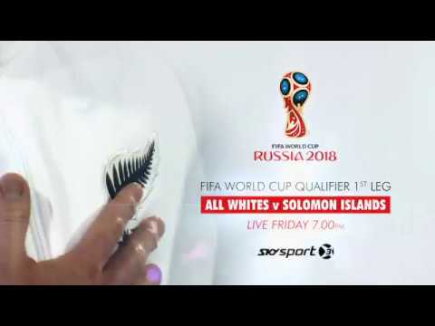 All Whites v Solomon Islands - LIVE on SKY Sport | SKY TV