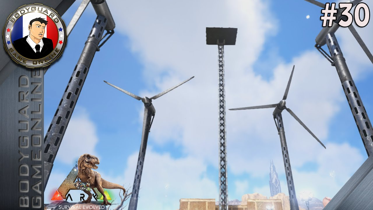 ark survival evolved wind turbine not working