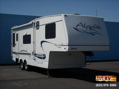 hqdefault 2000 alpenlite spyglass 29rl youtube 22 ft alpenlite 5th wheel wiring diagram at fashall.co