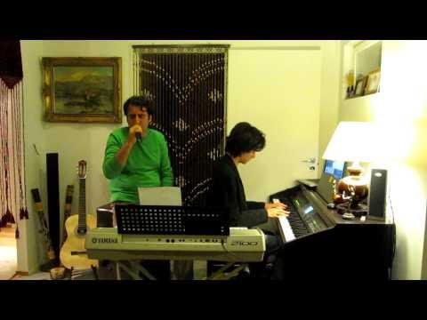 Donyaye in roozaye man (Dariush) - Piano and Vocals 'HQ'