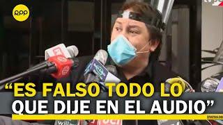 """Richard Cisneros: """"me están utilizando para un golpe de Estado"""""""